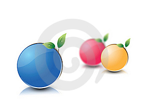 3 Life Planet Balls Royalty Free Stock Image - Image: 16821556