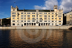 Old Palace In Stockholm Stock Photo - Image: 16821770
