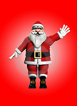 Happy Christmas Santa Stock Images - Image: 16829264