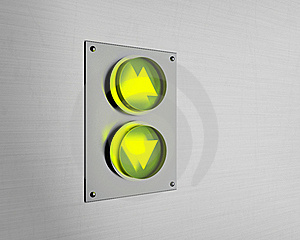 Elevator Buttons Royalty Free Stock Photography - Image: 16829797