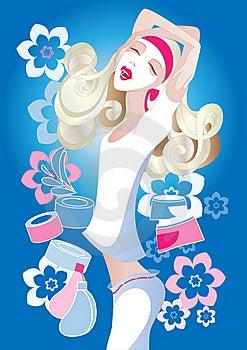 Night Cream Royalty Free Stock Photo - Image: 16831245