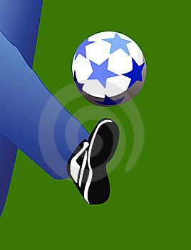 Football. Royalty Free Stock Photography - Image: 16831757