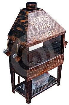 Turkish Coffee Coal Fire Royalty Free Stock Image - Image: 16831846