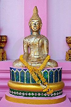 Buddha Statue At Wat Kaotulian Temple Royalty Free Stock Photo - Image: 16832455