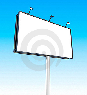Blank Billboard Royalty Free Stock Image - Image: 16832616