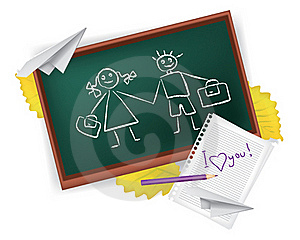 School Love Royalty Free Stock Images - Image: 16833109