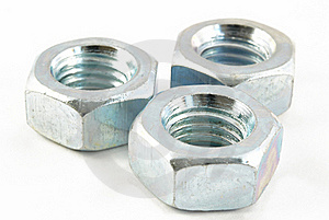 Screw-nuts Royalty Free Stock Photo - Image: 16833375