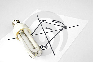The Fusing Economic Electric Lamp Stock Images - Image: 16833414