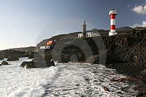La Palma Lightouse Stock Images - Image: 16833614