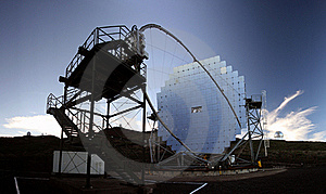 MAGIC Telescope Royalty Free Stock Photos - Image: 16834158