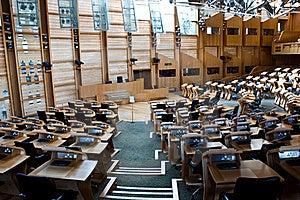 Edinburgh Parliament Royalty Free Stock Photos - Image: 16834828