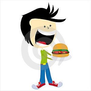 Hamburger Royalty Free Stock Photos - Image: 16835198
