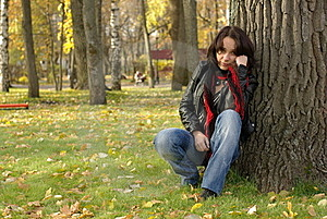 Female On Grass Royalty Free Stock Photos - Image: 16837198