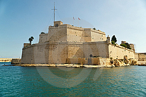 Grand Harbour Bastions Royalty Free Stock Image - Image: 16839726