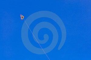 Kite On Blue Sky Royalty Free Stock Photo - Image: 16840105