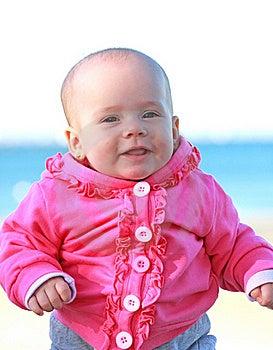 Baby Girl Smiling Royalty Free Stock Photos - Image: 16840188