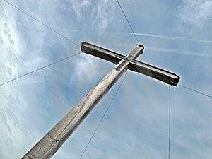 Summit Cross Stock Photography - Image: 16842182