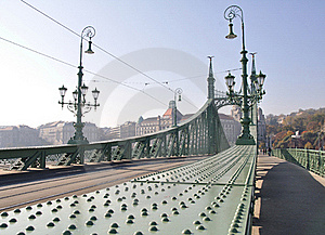 Freedom Bridge Stock Photo - Image: 16842210