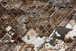 Cracked Wall With Peeling Paint Royalty Free Stock Image - Image: 16849566