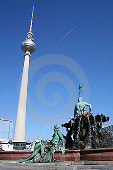 Fernsehturm In Berlin / Germany Royalty Free Stock Photo - Image: 16852695
