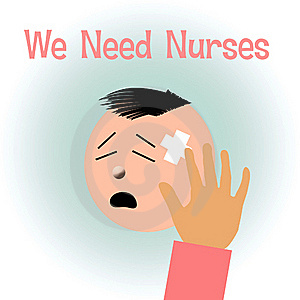 Nurses Needed Royalty Free Stock Photos - Image: 16853318