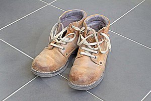 Brown Boots Royalty Free Stock Image - Image: 16853416