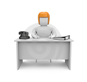 Secretary Stock Images - Image: 16853844