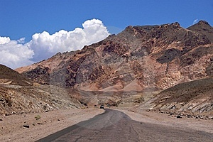 Death Valley Artist Drive Royalty Free Stock Images - Image: 16854039