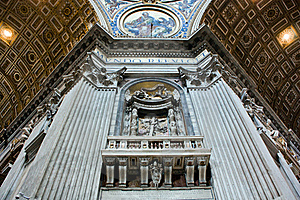 The Majesty Of St. Peter's Basilica Royalty Free Stock Photography - Image: 16856427