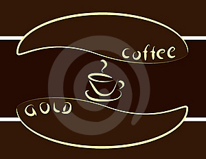 Gold Coffee Royalty Free Stock Photo - Image: 16857255