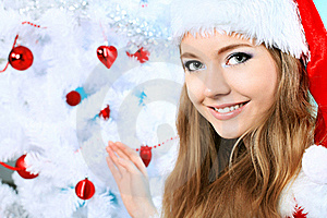 Snow Maiden Stock Images - Image: 16860334