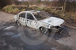 Stolen Car Royalty Free Stock Photos - Image: 16860618