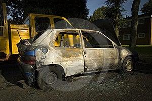 Stolen Car Stock Photo - Image: 16860670