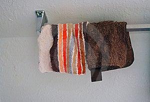Washclothes On Rack Royalty Free Stock Image - Image: 16860756