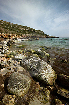 Rocky Shoreline Royalty Free Stock Photography - Image: 16860837