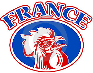 French Mascot Rooster France Stock Images - Image: 16860864