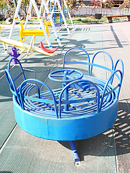 Children's Attractions Stock Photo - Image: 16861370