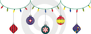 Christmas Lighting And Decorations Royalty Free Stock Photography - Image: 16862227