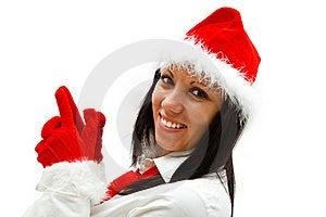 Christmas Woman Stock Photos - Image: 16863713