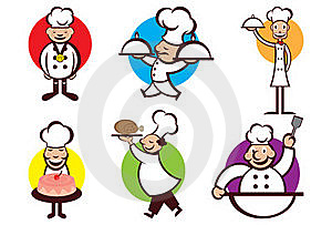Happy Chefs Royalty Free Stock Images - Image: 16864389