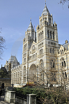 Natural History Museum, London Royalty Free Stock Images - Image: 16865649