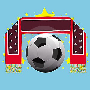 Soccer Banner Concept Card Royalty Free Stock Photo - Image: 16865945