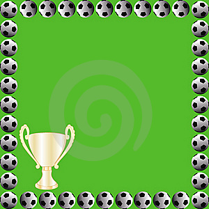 Soccer Field Card Royalty Free Stock Images - Image: 16866009