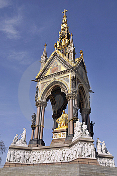 Albert Memorial, London Stock Images - Image: 16866074