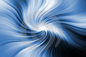 Abstract wavy background in blue