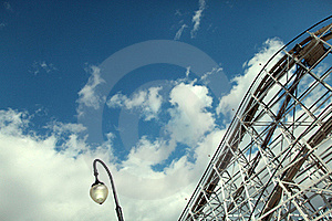 Amusement Park Stock Image - Image: 16872591