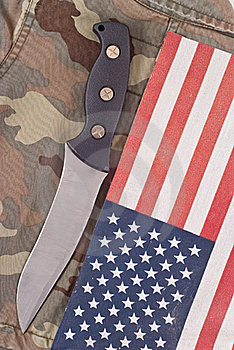 Special Operations Combat Knife Royalty Free Stock Images - Image: 16876459