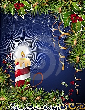 Christmas And New Year Card Royalty Free Stock Photography - Image: 16879567