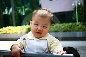 Smiling Baby Girl Stock Photos - Image: 16881103