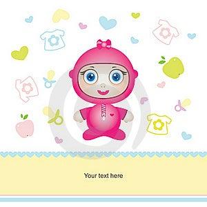 Cute Baby Girl Royalty Free Stock Photos - Image: 16882208